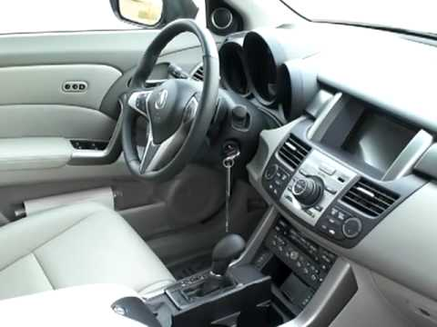 2010 ACURA RDX SH-AWD WITH TECHNOLOGY PACKAGE DEMO - YouTube