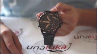 Como Funciona el Reloj Diesel DZ7312 Mr. Daddy 2.0 Series 4 Cronógrafo por Unaluka