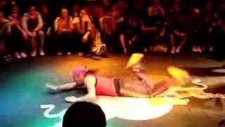Spain Vs Italy B-Girl Battle (Part 1) From BOTY 2007