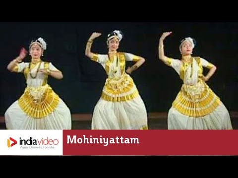 Mohiniyattam - female, solo dance of Kerala