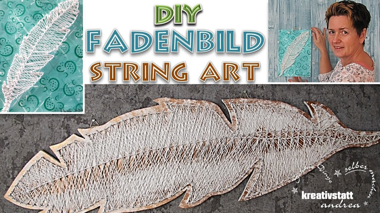 Fadenbilder Mit Nägeln Vorlagen Diy Spring Thread Picture Nail Picture String Art 2 Variants With Templates How To