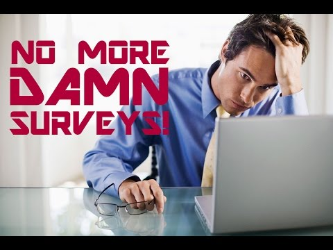 How to get rid of surveys - with complete steps - latest 2015