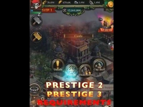PRESTIGE 2 STARTED & PRESTIGE 3 REQUIREMENTS (CLASH OF KINGS ROAD TO PRESTIGE 10)