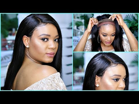 CHIT CHAT HAIR EDITION  - 360 LACE FRONTAL WIG INSTALL!!! NO HAIR LEFT OUT! NO TAPE! FT. BESTLACEWIG