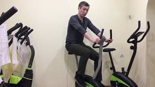 Магнитный велотренажер GF 204, полноценный тренажер для похудения