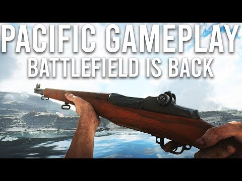 Battlefield V Pacific Gameplay - Battlefield is back