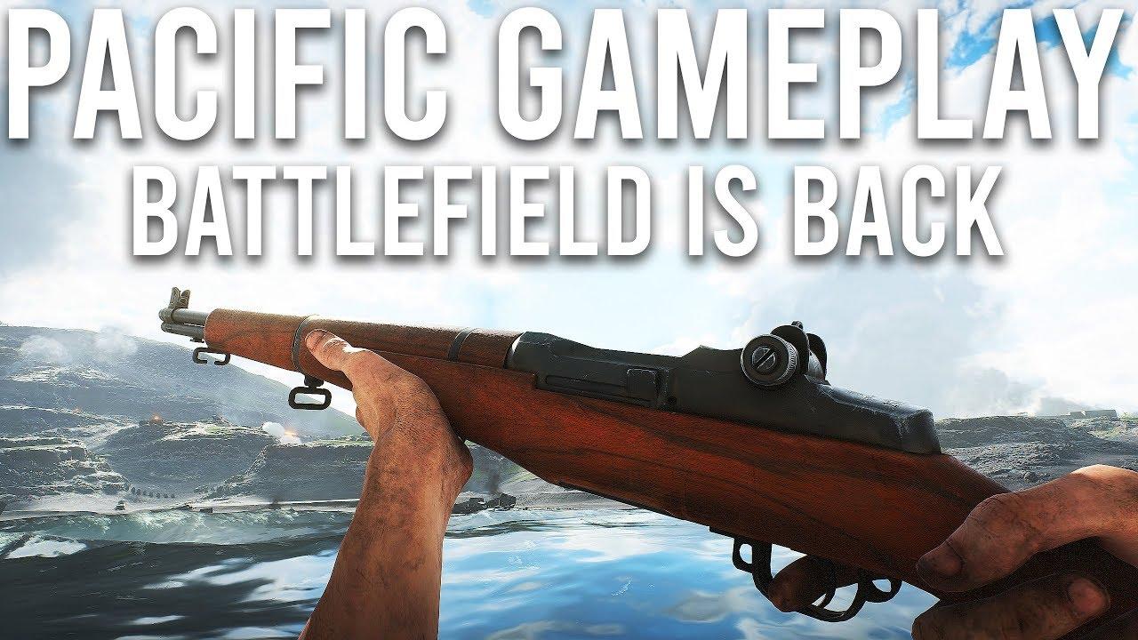 Battlefield V Pacific Gameplay - Battlefield est de retour + vidéo