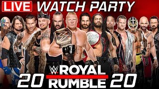 WWE Royal Rumble 2020 | Watch Party & Reactions