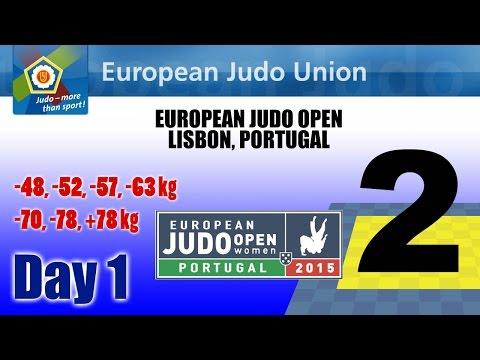 European Judo Open 2015 - Lisbon (POR) - MAT 2