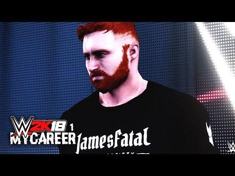 WWE 2K18 My Career Mode Ep 1  WWE Debut! Actions Speak Louder Than Words!