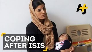 Yazidi Women Cope After Being Held Captive By ISIS Fighters