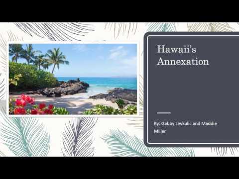 Hawaii's Annexation