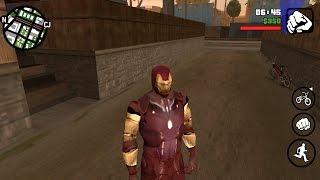 Gta Sa Iron Man Mod Android By Androkaran From Youtube - The