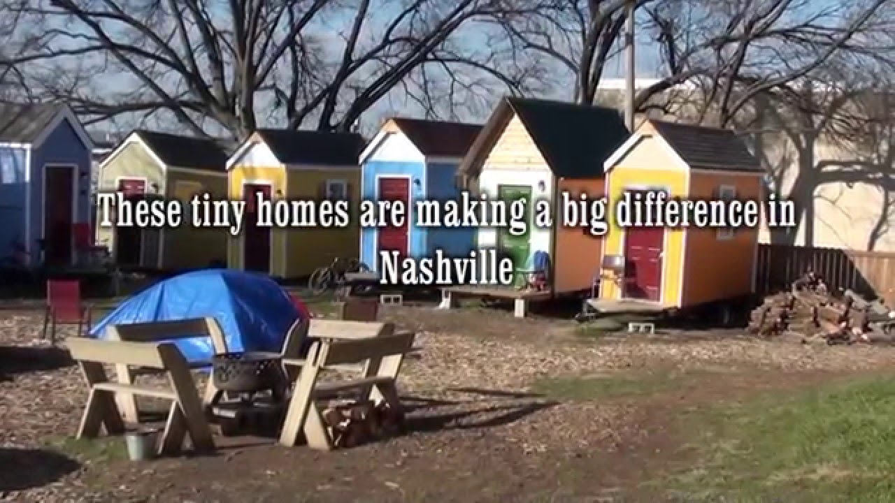 Building Tiny Homeless Houses Nashille TN YouTube