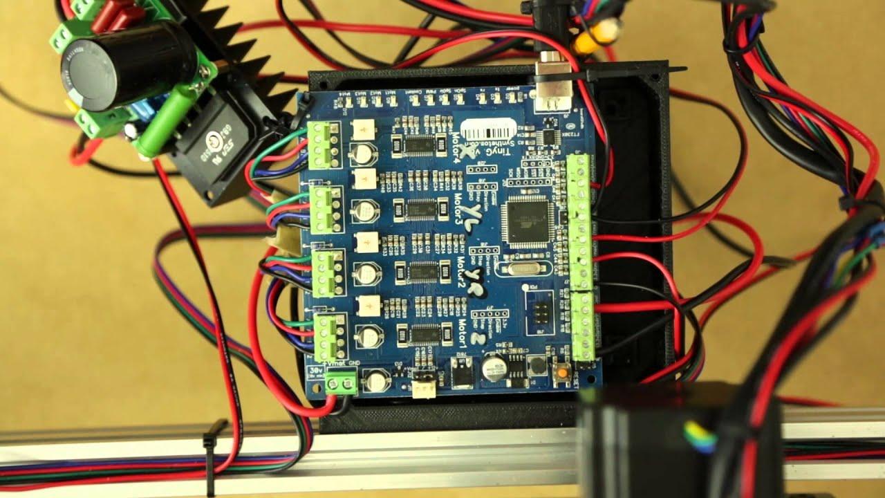 Setup & Overview Of The OX CNC, TinyG Controller Plus Chilipeppr & JScut  Part 2
