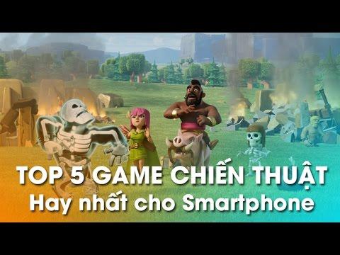 5 Game chiến thuật hay nhất cho Smartphone