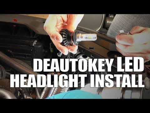 DeAutoKey LED Kit - Headlight Installation for MK6 VW Jetta/GTI