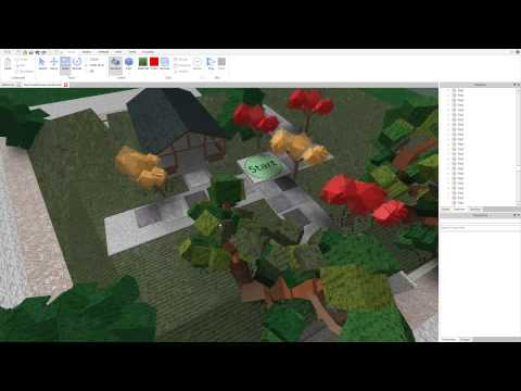 how to create grass in roblox