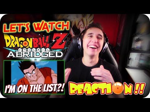 YAMCHA WAS ON THE LIST!| LET'S WATCH DBZ Abridged Episode 59 REACTION! #CELLGAMES