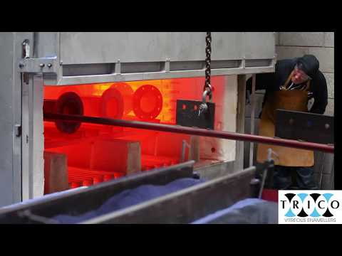 Trico Vitreous Enamel Reglassing Cast Iron Valves