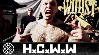 WORST - VÍCIOS - HARDCORE WORLDWIDE (OFFICIAL HD VERSION HCWW)