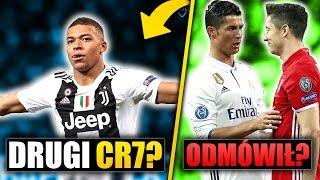 Kylian Mbappe w JUVENTUSIE! Ronaldo namawiał Lewandowskiego na transfer do Realu Madryt