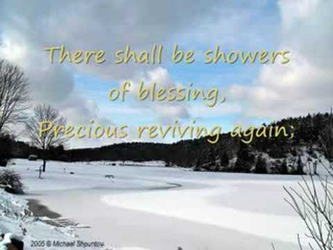 There Shall Be Showers Of Blessing Chords Chordify