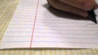Drawing ninja stick