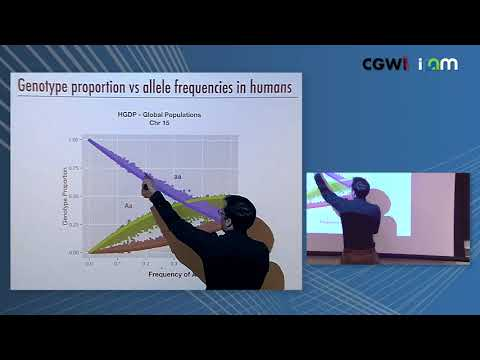 "John Novembre: ""Computational tools for understanding geographic structure in genetic..."""