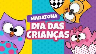 Maratona de Dia das Crianças (1 hora) - Bubu e as Corujinhas