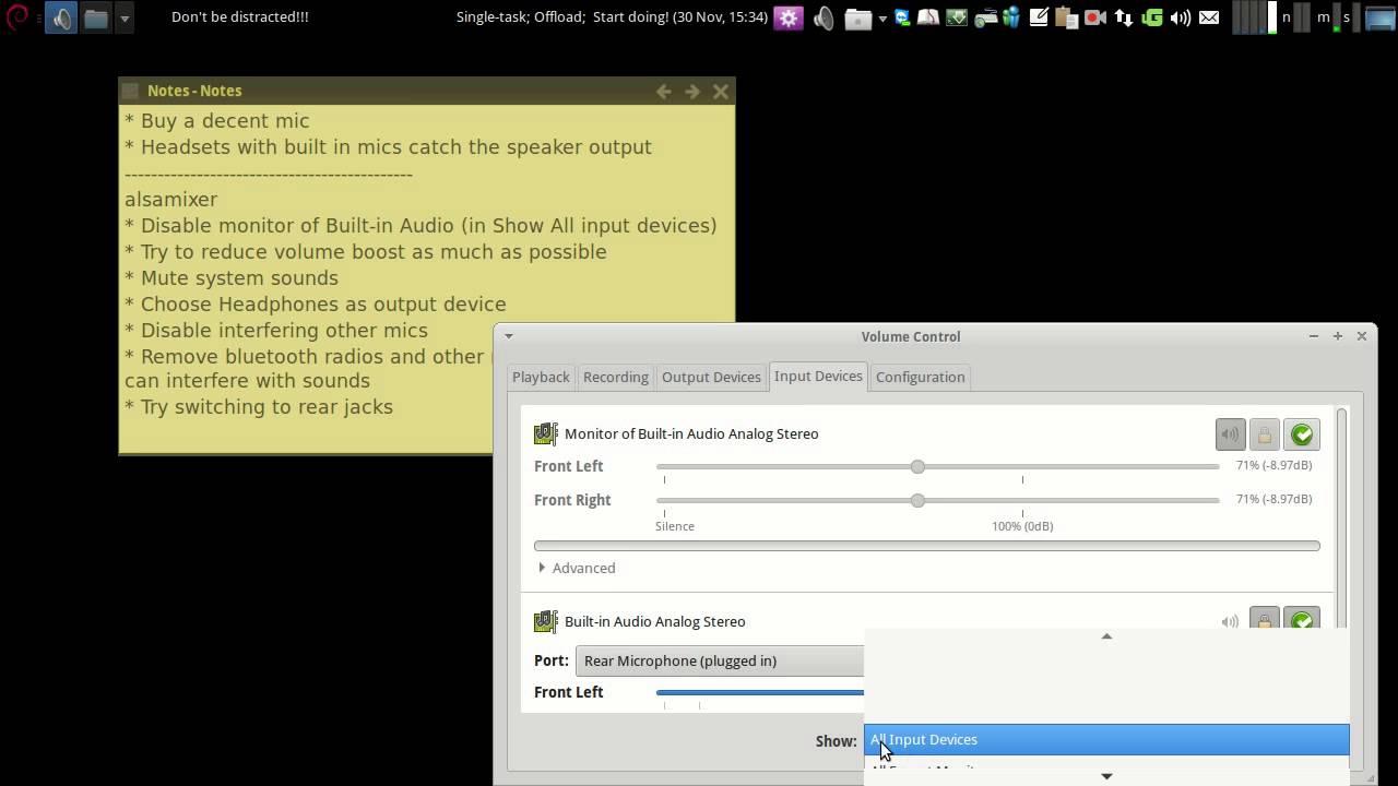 Fix mic problems for Skype (Ubuntu/Linux Mint/Linux)