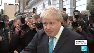 UK General election: France 24 takes a look at the making of Boris Johnson