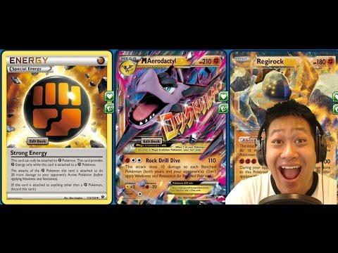 ROCKING Mega Aerodactyl Fighting Deck, Heavy Boosted DMG, Hits ALL Bench Pokemon