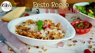 Vapiano Rezept: Pesto Rosso - Vapiano Pasta Rezept für zu Hause / Pestonudeln wie bei Vapiano
