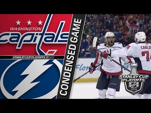 05/11/18 ECF, Gm1: Capitals @ Lightning