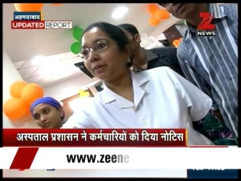 Ahmedabad civil hospital staff members play garba inside ICU ward