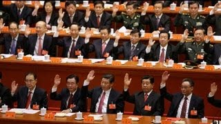 China Communist Party Congress closes