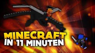 Minecraft in 11 Minuten durchgespielt! | Speedrun | DieBuddiesZocken