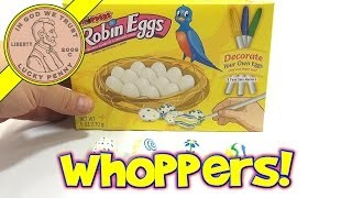 Whoppers Robin Eggs, Decorate Your Own Eggs And Eat Them Too!