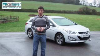 Hyundai i40 Tourer estate review CarBuyer
