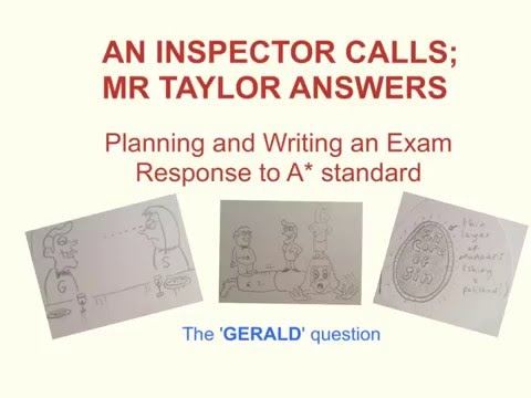 an inspector calls gerald croft essay What is the genre of 'an inspector calls' and how this essay has been arthur represents envy in 'an inspector calls', because he envies gerald croft and.