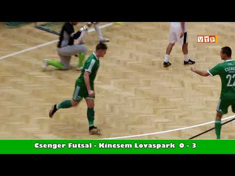 Futsal Csenger Kincsem összefoglaló 2017 12 18