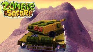 ТАНК ПРОТИВ ЗОМБИ zombie safari #13 ВИДЕО про машинки прохождение ДЛЯ ДЕТЕЙ VIDEOS FOR KIDS games