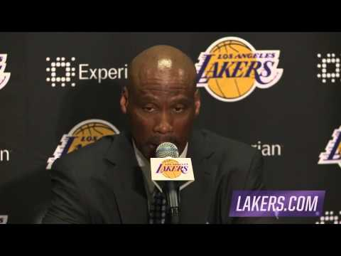 Byron Scott Postgame Interview | Celtics vs Lakers | February 22, 2015 | NBA 2014-15 Season