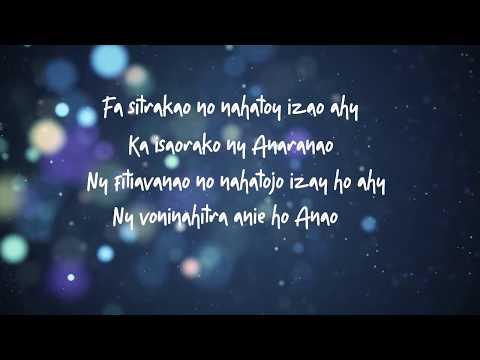 Rija Ramanantoanina - AVY AMIANAO [ Parole ] │ by Lyrics Mada 2019