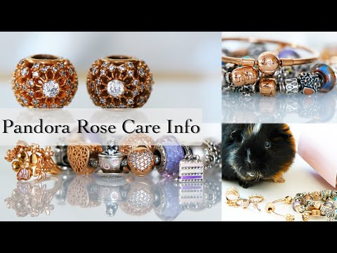 Pandora Rose Collection | Colour Change | How to Clean Pandora Rose