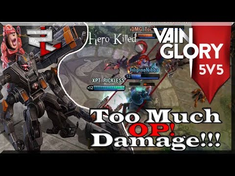 3.1 Vainglory 5v5 Rank: Bot wp Joule: Joule Definitely Feels Stronger this Patch!