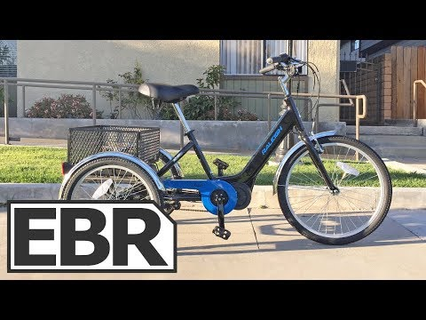 Raleigh Tristar iE Video Review - $2.6k Premium Electric Trike