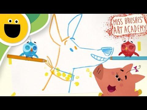 We Call It Art Song! | Miss Brushes Art Academy (Sesame Studios)