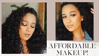 An Affordable Makeup Look! | Essence, Wet N Wild, Nyx & More!